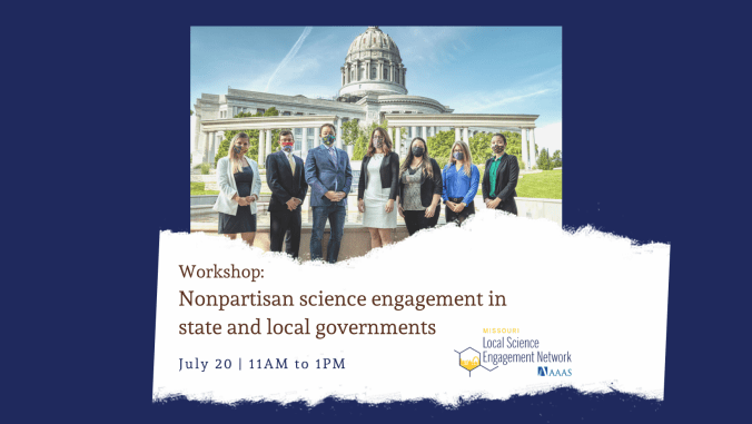Nonpartisan Science Engagement with Policymakers – a Hybrid Workshop