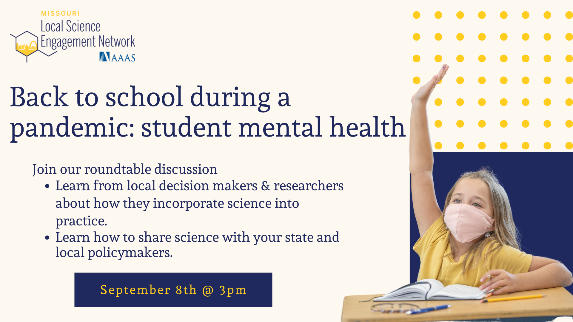 Back to school during a pandemic: Student Mental Health